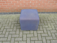 CSDB2 Cube Seat in Blue Fabric