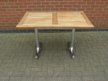 RST1 Rectangular Outdoor Table. Top 120cm x 69cm
