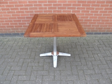 SQE1 Square Outdoor Table. Top 80cm x 80cm