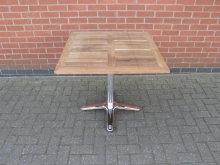 LSQ2 Square Outdoor Table. Top 80cm x 80cm