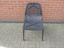 BMOC07 Black Metal Outdoor Chair
