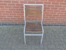 WMOC05 Aluminium Framed Wooden Outdoor Chair