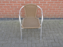 ORC33 Outdoor Chair With Metal Frame