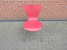 DRB08 Red Dining Chair