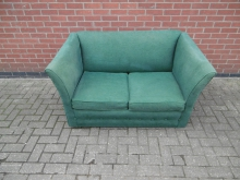 GSB01 Green Two Seater Sofa Bed