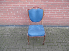 SBBB04 Shield Back Banqueting Chair in Blue
