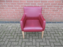 TCR02 Red Tub Style Chair