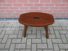 LSM01 Low Wooden Stool