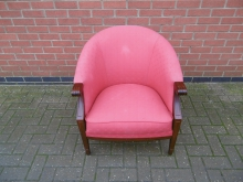 RTUSC02 Red Tub Style Chair