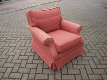 ECBC186 Easy Chair in Salmon Pink