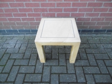 SCT02LW Square Coffee Table in Light Wood Finish