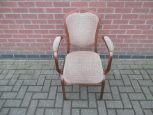 BCA22 Stacking Banqueting Chair with Arms