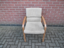 ACC06 Cream Open Sided Tub Chair