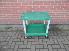 GPS01 Green Plastic Trolley