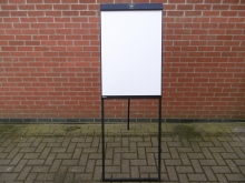 EWB01 Easel White Board with Flipchart Clip