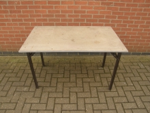 RBT09 Burgess Rectangle Banqueting Table With Flock Top