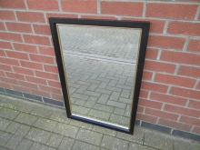 BGFM05 Mirror in Black and Gold Frame