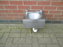 CS01 Stainless Steel Hand Wash Basin