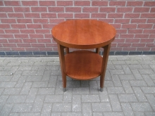 RCTS01 Round Coffee/Occasional Table With Shelf