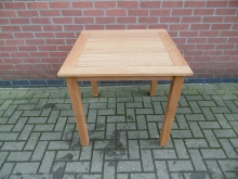 SWOT1 Square Wooden Outdoor Table