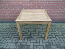 STOT1 Square Wooden Outdoor Table