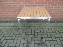 AFOT1 Aluminium Framed Square Outdoor Table