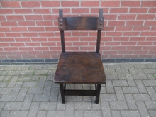 RDCTS34 Tudor Style Restaurant Dining Chair