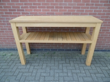 LPTS01 Solid Wood High Bar Table