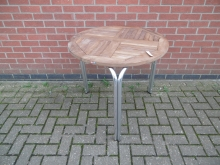 ODST850 Round Outdoor Stacking Table