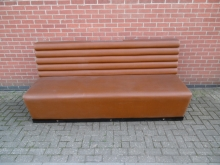 BBS1 Three Sections of Bench Seating in Faux Leather