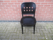 BBW5 Restaurant/Bistro Chair in Black
