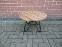 RCTML2 Round Coffee Table with Metal Base