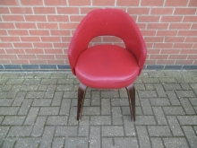 RTUBA2 Red Tub Style Chair with Arms