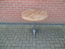 FTOT8 Teak Flip Top Outdoor Table