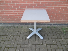 GST10 Grey Square Dining Table, 60cm x 60cm