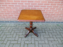 DWST02 Dark Wood Square Table, 62cm x 62cm