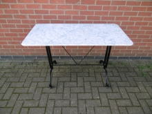 MARRE2 Rectangle Marble Top Table