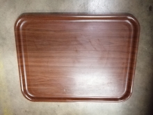 DWST74 Wood Effect Serving/Drinks Tray