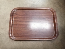 DWSST18 Wood Effect Serving/Drinks Tray