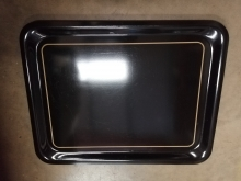 BST34 Black Serving/Drinks Tray