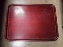 ELST1 Wood Effect Serving/Drinks Tray