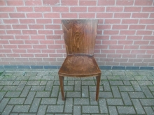 RDC15 Resturant/Dining Chair in Dark Wood