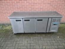 PUPR01 Prep Unit with Under Counter 3 Door Refrigeration