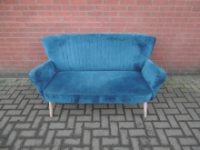 BSF1 Two Seater Sofa in Blue