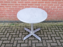 OFTR02 Round Outdoor Flip Top Table 70 cm Diameter