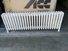 CASTR02 White Cast Iron Radiator