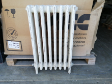 CASTR03 White Cast Iron Radiator