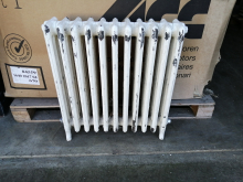 CASTR1 White Cast Iron Radiator