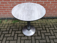 CFC0047 Round Restaurant Dining Table with Pedestal Base