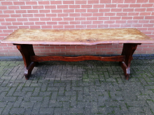 CFC0070 Large Solid Wood Rustic Table